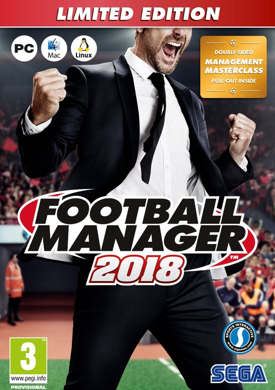 Football Manager 2018 - Limited Edition - Windows + MAC