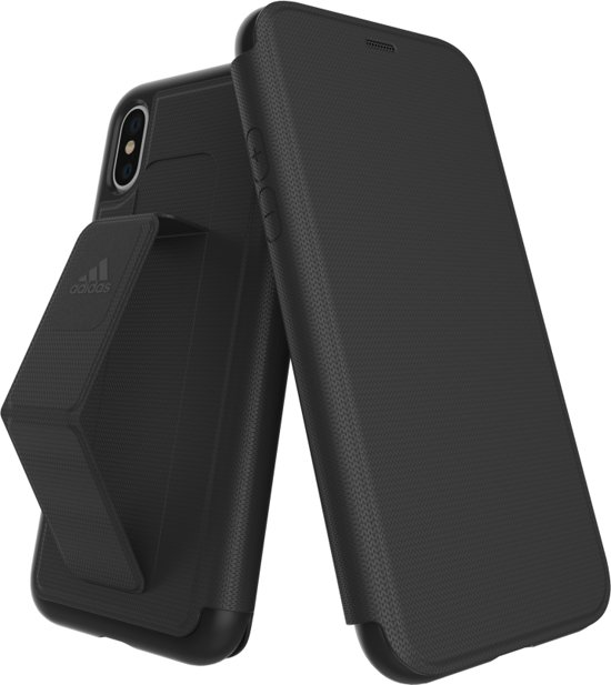 new product 3e813 e6967 adidas Sports Folio Grip Case Apple iPhone X Zwart