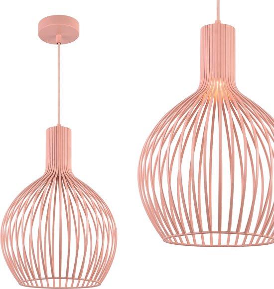Hedendaags bol.com | Stijlvolle design hanglamp Napels - Rose Goud OR-79