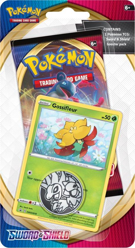 Afbeelding van Pokémon Sword & Shield Checklane Booster Gossifleur - Pokémon kaarten
