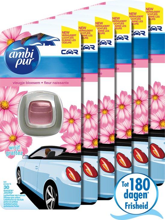 Ambi Pur Auto Clip-on Vleugje Bloesem Voordeelverpakking