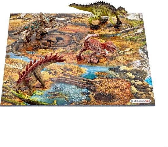 Schleich 42331 Mini Dinosaurus set met moeras puzzel (24)