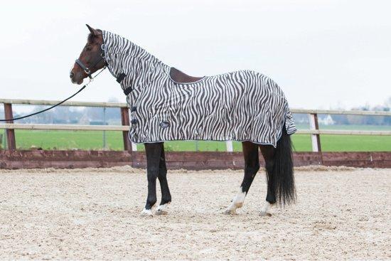Harry Horse Vliegenrijdeken  Zebra - maat 155
