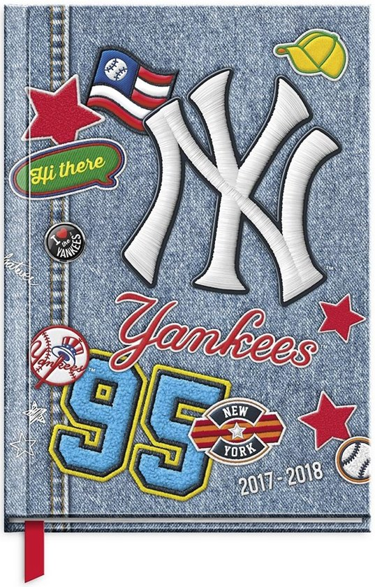 MLB New York Yankees Patches schoolagenda 2017 2018