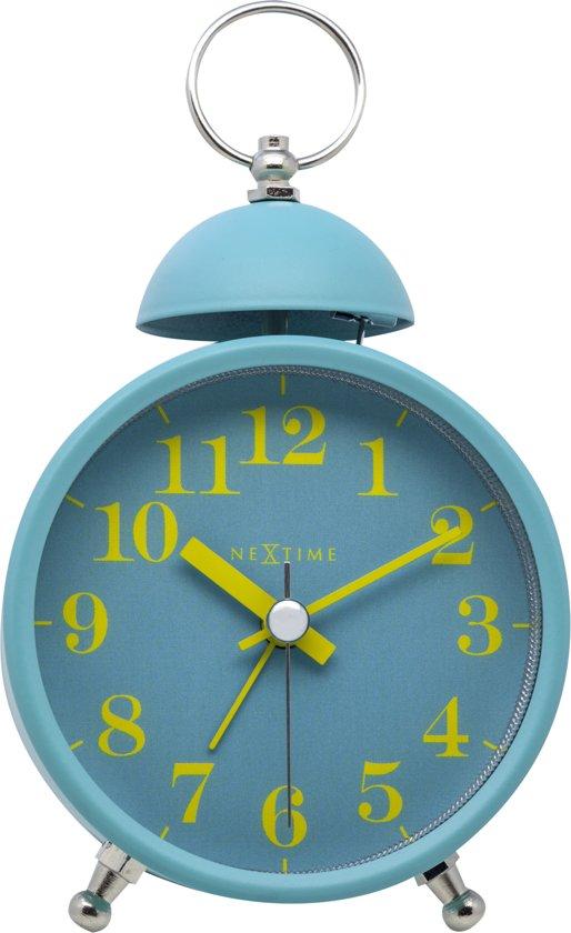 NeXtime Single Bell Alarmklok 9,6 x 9,6 cm