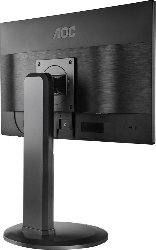 AOC e2460Pq/BK 24'' Full HD LED Zwart computer monitor