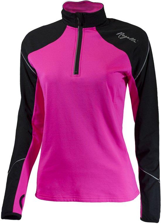 Rogelli Vision 2.0 Sportshirt performance - Maat M  - Vrouwen - roze/zwart