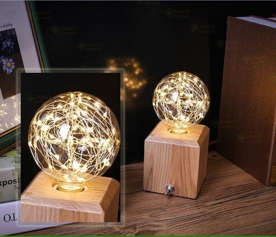 Favoriete bol.com | LED LAMP DRAADLAMP KERST 3 WATT E 27 = GROTE FITTING YB17