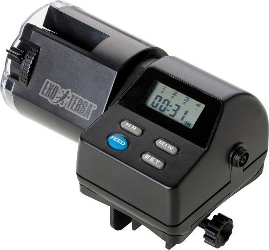 Exo Terra Schildpad voederautomaat  - Zwart - 10,9 x 16,5 x 10,2cm