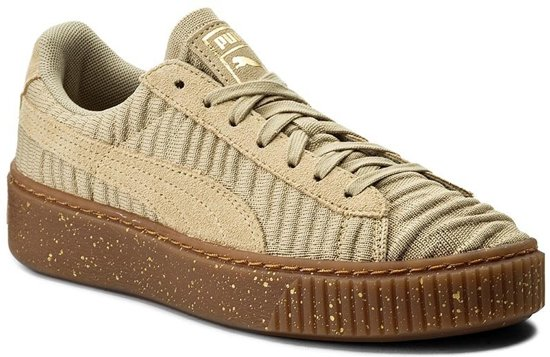 Laag safari Dames 364090 safari whisper White Gekleed Maat Beige 37 02 Sneaker Puma qwfUEU