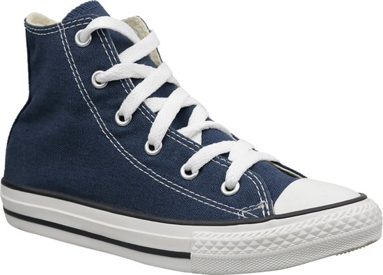 89f57843fcd459 Converse C. Taylor All Star Youth Hi 3J233, Vrouwen, Blauw, Sneakers maat