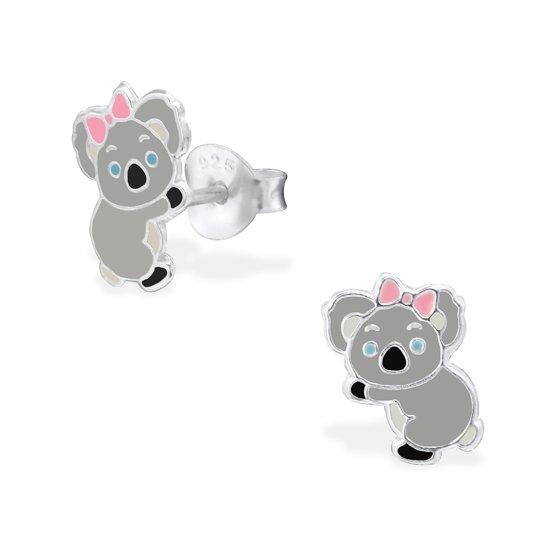 La Rosa Princesa - Koala Oorknoppen - Zilver