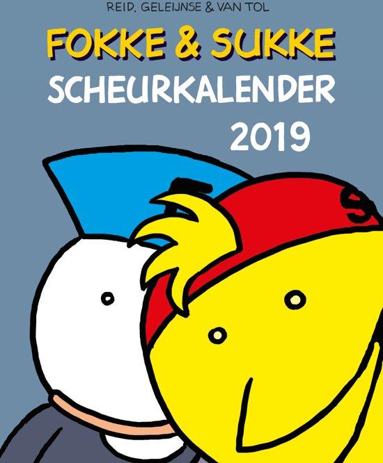 2019 fokke & sukke scheurkalender