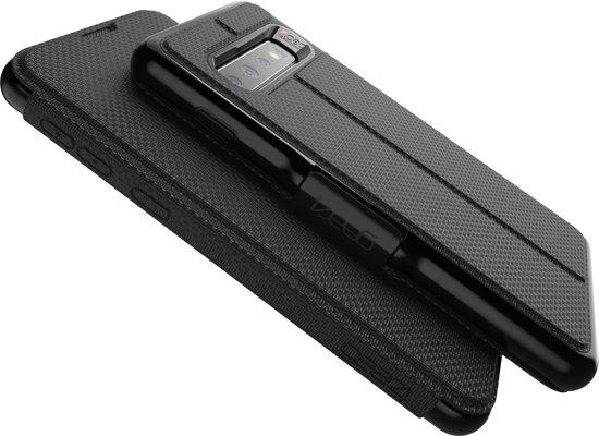 GEAR4 D3O Oxford telefoonhoesje voor de Samsung Galaxy S10 - zwart