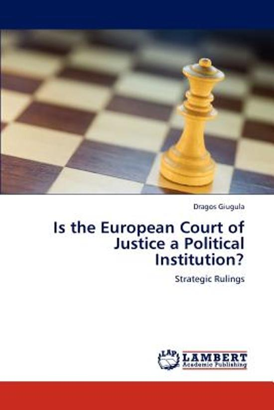 the legal reasoning of the ecj