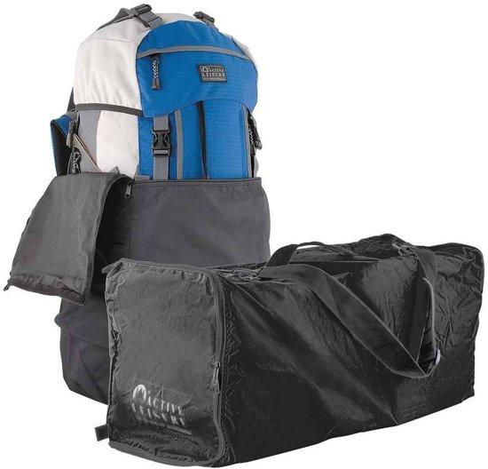 d2b1da6dd86 bol.com | Flightbag voor backpack - 55-80 liter - zwart