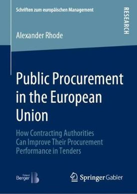 Public Procurement in the European Union