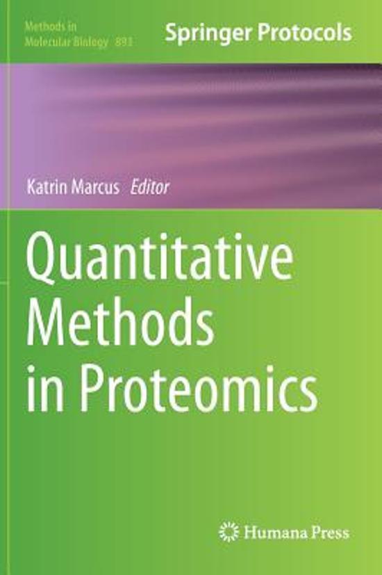 quantative methods