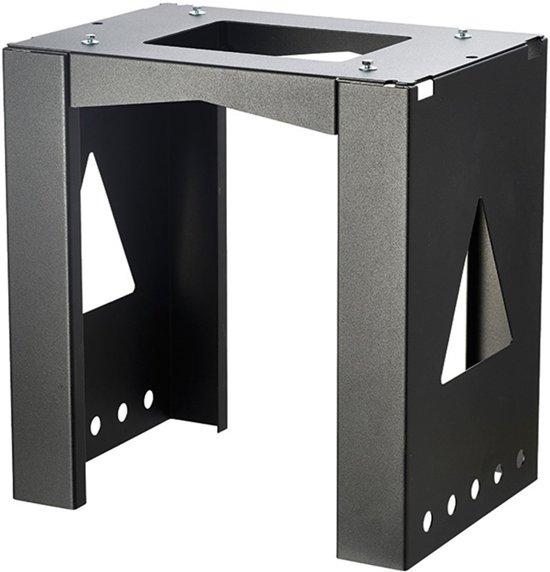 Allux Montage pakketzuil 8002 zwart