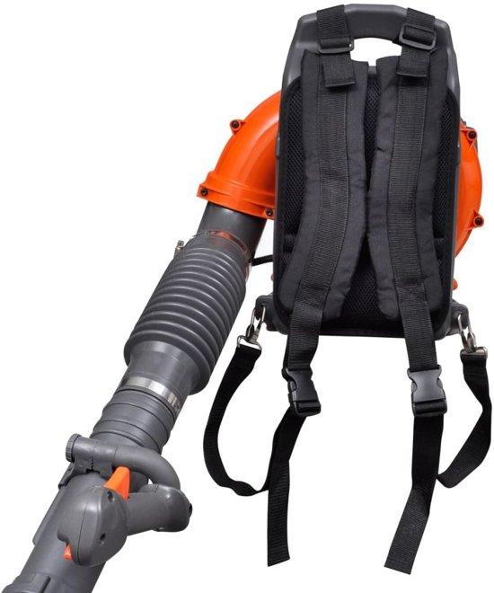 vidaXL Bladblazer rugzak benzine 42,7 cc 900 m³/h