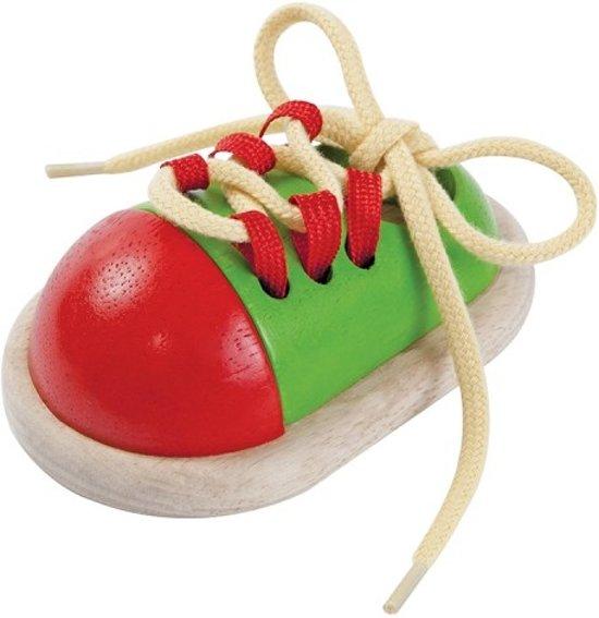 PlanToys Tie-up Shoe speelgoed voor motoriek