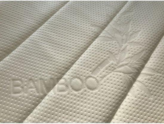 Topdekmatras - Topper 160x210 - Koudschuim HR60 8cm - Soft + Bamboo tijk