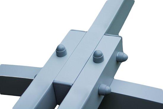 Potenza Prime - Tweepersoons hangmatstandaard /2-persoons hangmat standaard- Aluminium