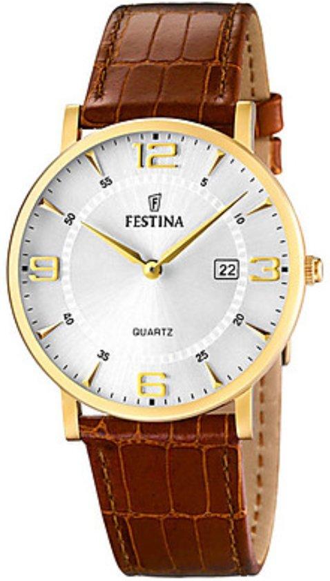 Festina F16478/3 - Horloge - Bruin