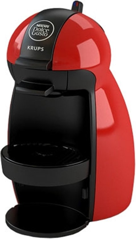 krups piccolo kp1006 dolce gusto apparaat rood. Black Bedroom Furniture Sets. Home Design Ideas