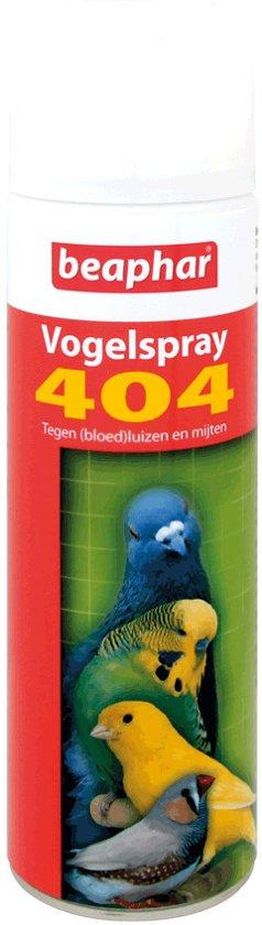 Beaphar 404 Vogelspray - Insectenafweermiddel - 250 ml