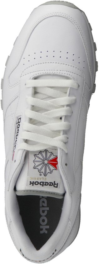 Cl Maat Reebok Heren Sneakers MenWit Lthr 44 rBedoCxW