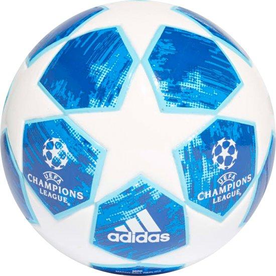 adidas Champions League minbal witblauw
