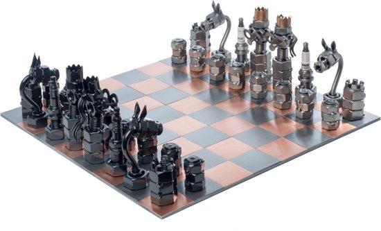 Afbeelding van het spel Hinz & Kunst schaakspel metaal