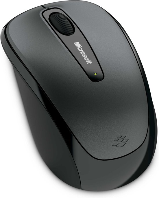 Microsoft Wireless Mobile Muis 3500 - Zwart