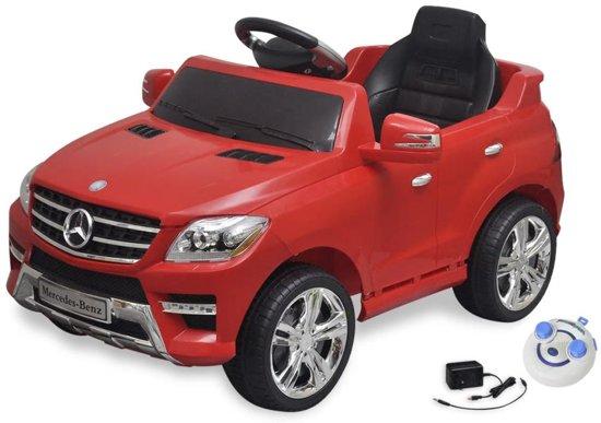 Bol Com Vidaxl Elektrische Auto Mercedes Benz Ml350 Rood 6 V Met