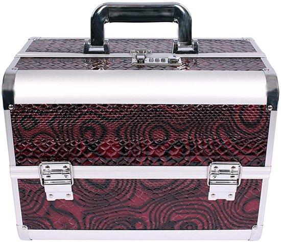 6c5d9e7329d bol.com | Beautycase / Bijouterie koffer / Cobra Velvet