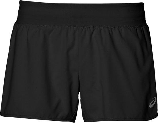 Asics fuzeX 4 inch Runningshort  Sportbroek - Maat L  - Vrouwen - zwart
