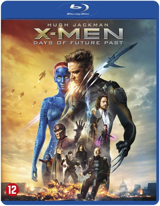 DVD cover van X-Men: Days of Future Past (Blu-ray)