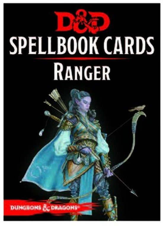 Dungeons and Dragons Spellbook Cards - Ranger