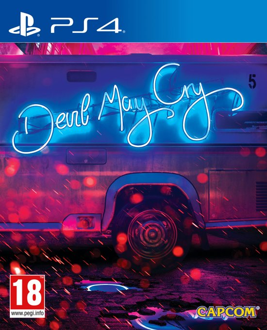 Devil May Cry 5 Deluxe Steelbook Edition - PS4
