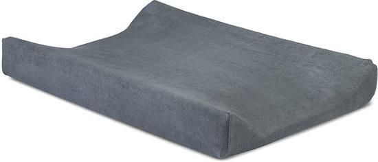 Waskussenhoes badstof 50x70cm dark grey