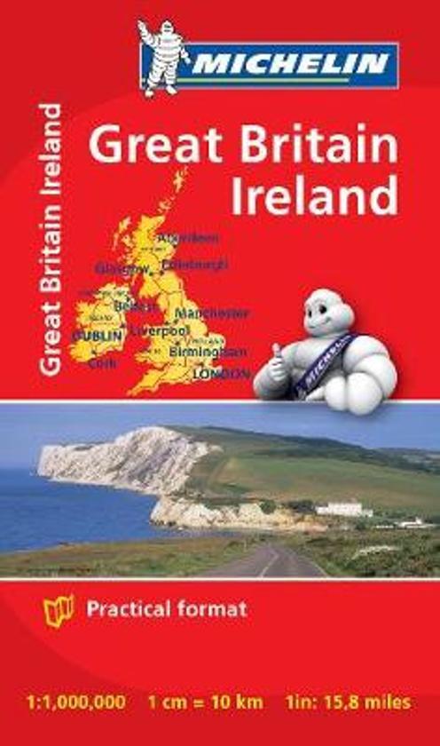 Great Britain & Ireland - Michelin Mini Map 8713