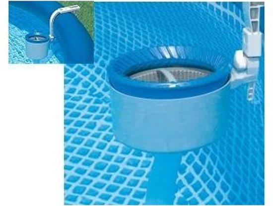 Oppervlakte skimmer Intex deluxe + wandbevestiging - Intex 28000