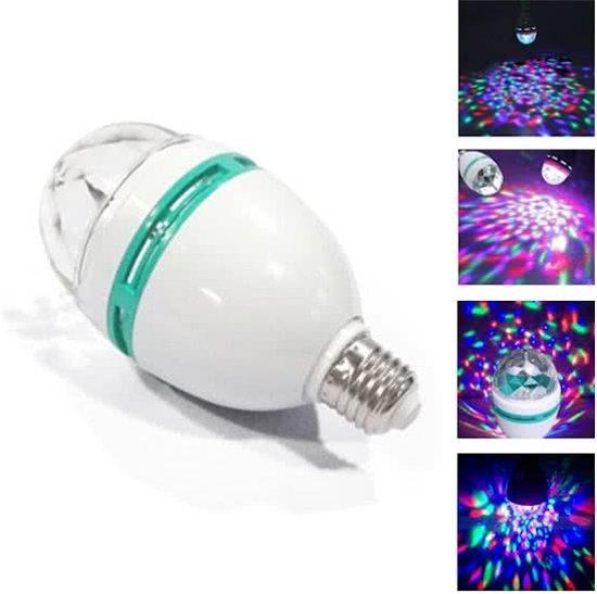 bol.com | LED discolamp - Discobal - Partylamp - Roterende lamp ...
