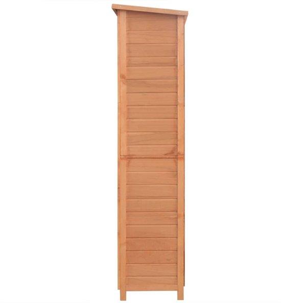 vidaXL Dierenhok 6 kamers hout