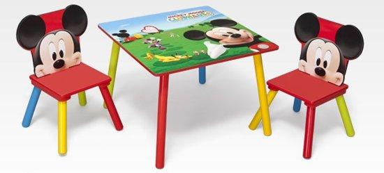 | Disney Mickey Mouse Tafel En Stoelen Set, Disney