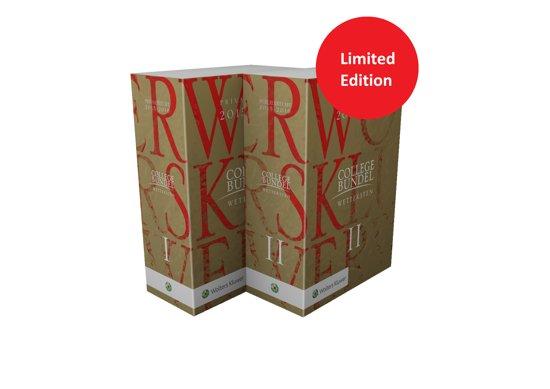 Boek cover Kluwer collegebundel privaatrecht publiekrecht limited edition 2015/2016 van Henk Kummeling (Hardcover)