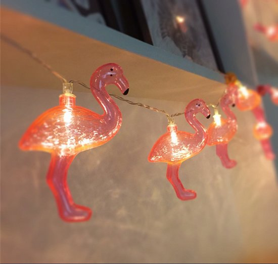 bol.com   Lichtsnoer met flamingo lampjes / Led verlichting ...