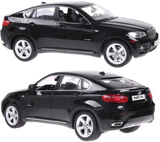 Rastar Bestuurbare auto BMW X6 Zwart - Schaal 1/14 - Bestuurbare Auto