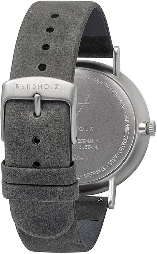 Kerbholz Caspar Slate Horloge